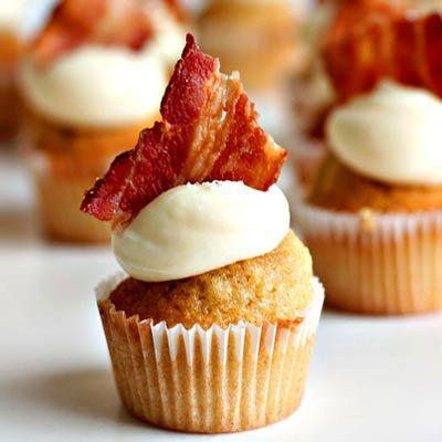 Cupcake érable & bacon