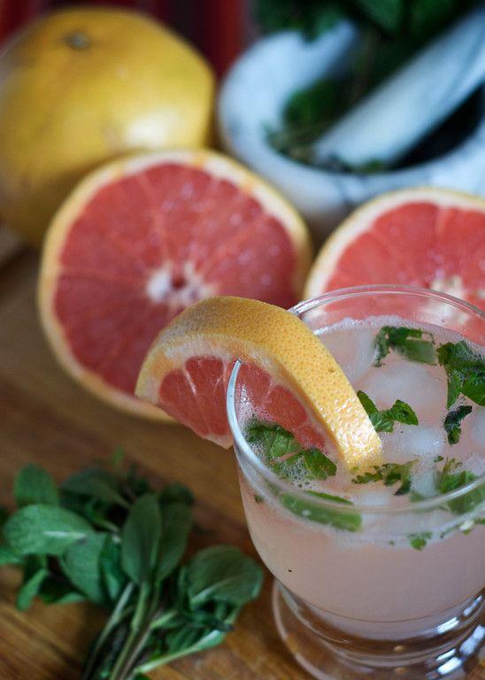 Grapefruit Mojito / The Borrego Mojito