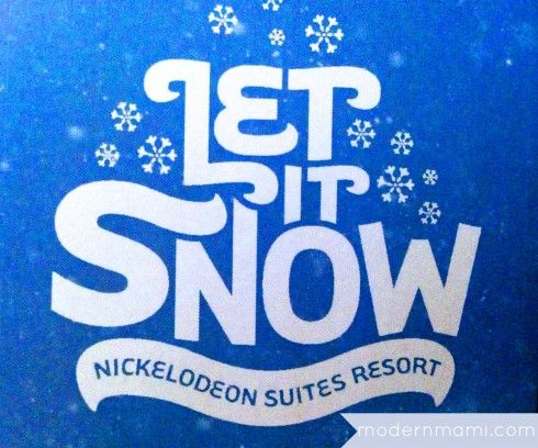 Nickelodeon Suites Resort's Let it Snow Holiday Event #Orlando #CentralFlorida #Holidays #Christmas