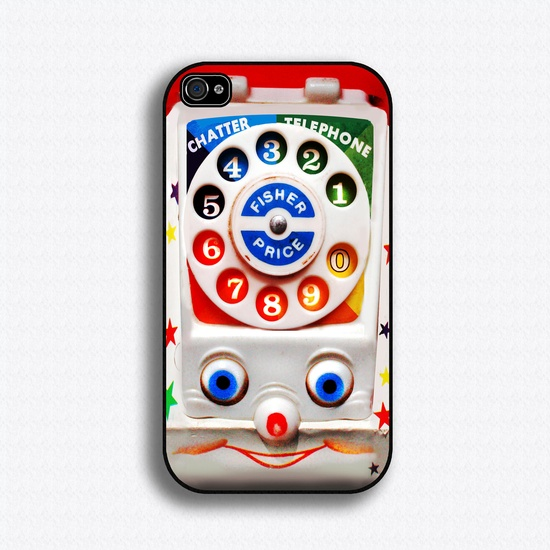 Awww!!!!  Vintage Toy Phone iPhone Case