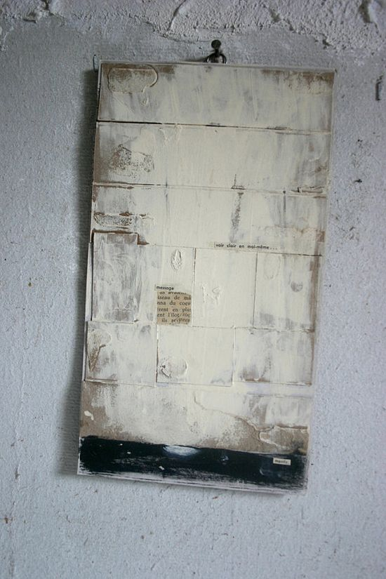 collage sur carton / collage on cardboard par tetedecaboche1965, $12,00