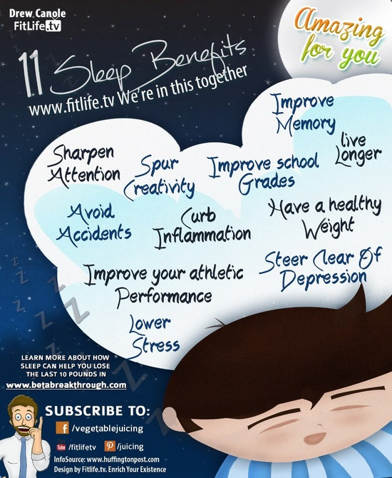 11 Sleep Benefits :) #infographic #sleep #benefits #memory #attention #performance #creativity