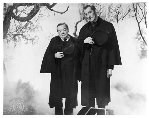 Peter Lorre & Vincent Price