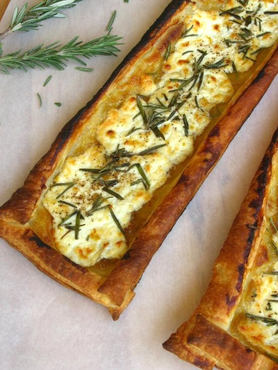 Quick Rosemary, Fig, and Goat Cheese Tarts > Willow Bird Baking