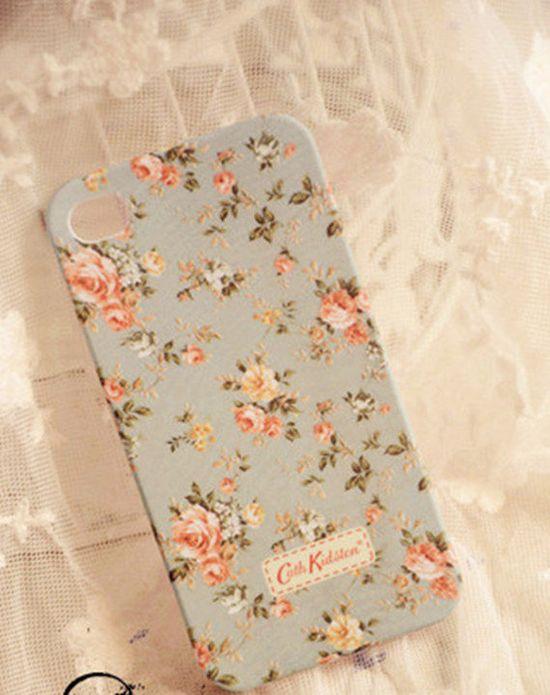 iPhone 4 Case, iPhone 4s Case,Cute iPhone 4 Case,floral iPhone 4 Case, iPhone 4 Case floral,flower iPhone Case, iPhone case 4 4s. $14.99, via Etsy.