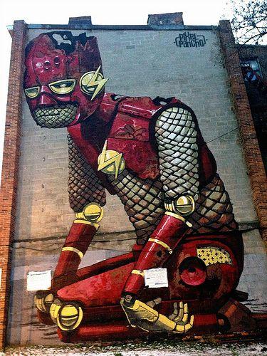 Pixel Pancho in Baltimore