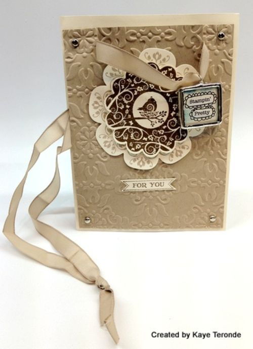 Crazy for Stampin' Up! Crumb Cake - Stampin' Up! Demonstrator - Mary Fish, Stampin' Pretty Blog, Stampin' Up! Card Ideas & Tutorials