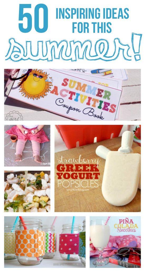 50 inspiring ideas for summer!