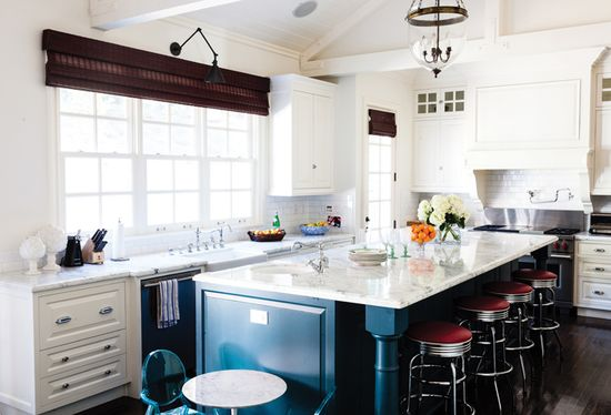 use black shades in bellaire kitchen?