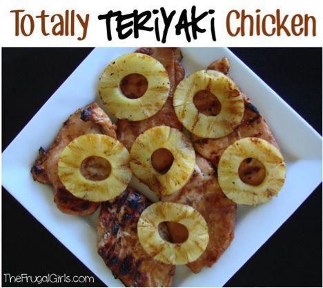 Easy Grilled Teriyaki Chicken! ~ from TheFrugalGirls.com {Fire up the grill! This quick and easy Chicken Marinade is absolutely delish!} #teriyaki #chicken