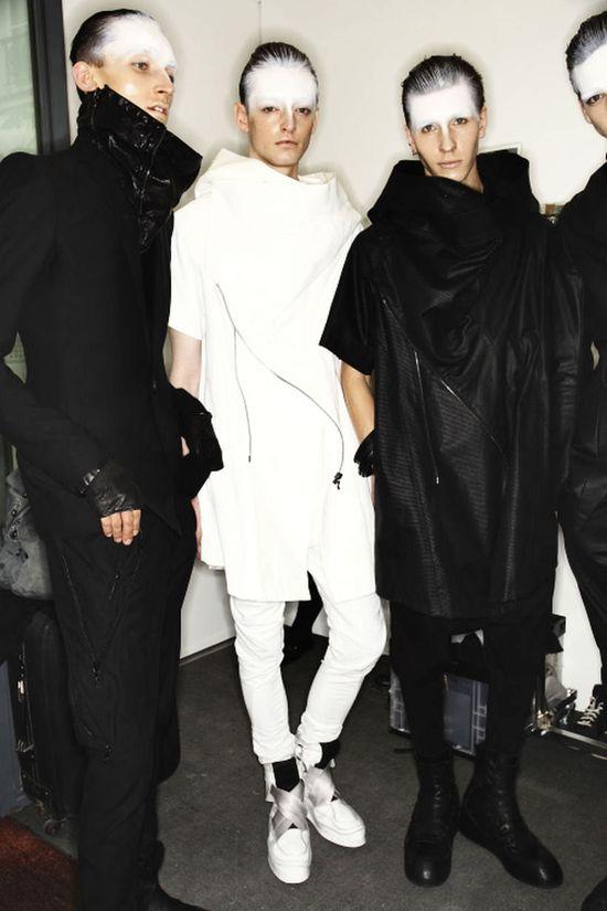 Julius SS14 Men Fashion Show Paris Backstage