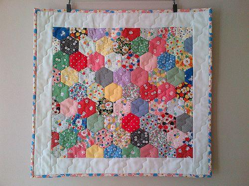 Hexagon Mini quilt
