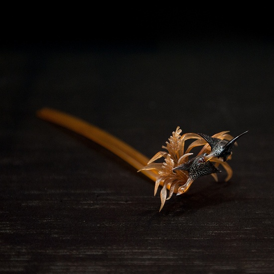 Japanese hair accessory -Kanzashi- from Tokyo National Museum, Japan