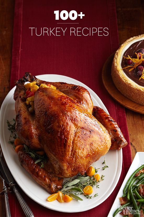 We will help you prepare the best Thanksgiving turkey from start to finish. For all of our Turkey Recipes: www.bhg.com/...