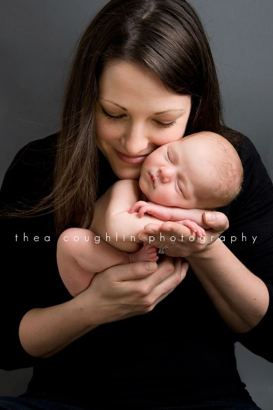 Mom/Newborn Photo