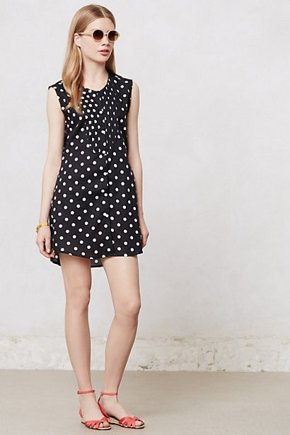 Dotted Uptown Tunic #anthropologie