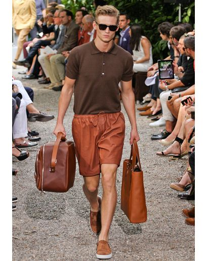 Brown - Men's Spring 2013 Fashion Trend - Milan Men's Fashion Week: Fashion Shows: GQ