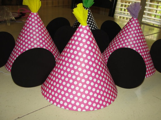 minnie party hats