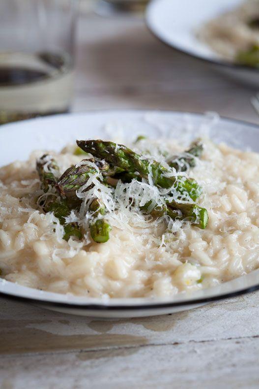 Asparagus & Lemon Risotto