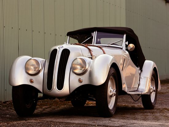 1936 BMW 328 Roadster.