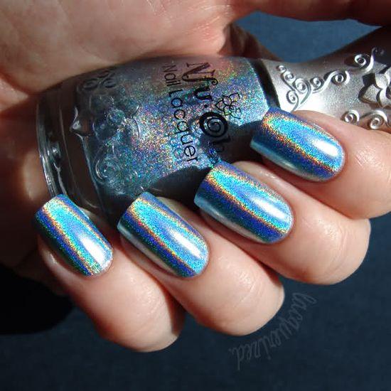 LOVE!!!!!!!!!!!!!!                                                        Holographic nail polish