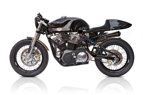"""Cafe Racer Special: Harley Davidson 1200 Sportster """"THE AMERICAN"""" by Deus America"""