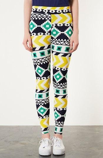 Print leggings. Yes please.