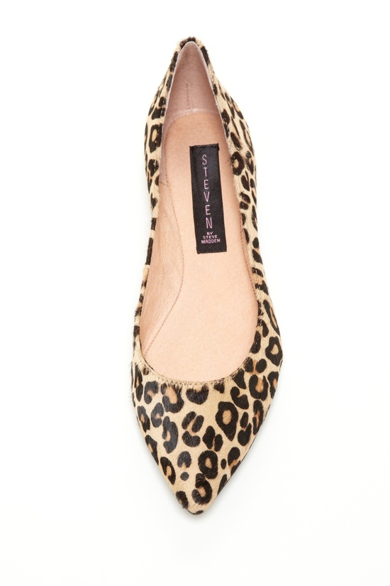 classic leopard flat