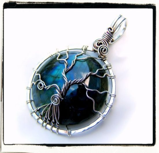 Wire Wrap Lesson Sleeping Tree Pendant Tutorial by FashionWire, $10.00