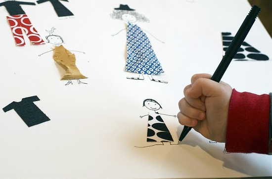 Dress up drawings