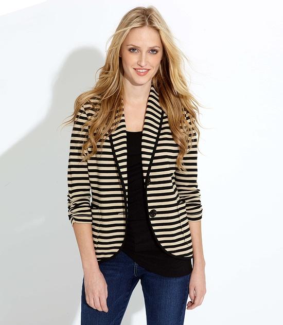 Striped jacket :}