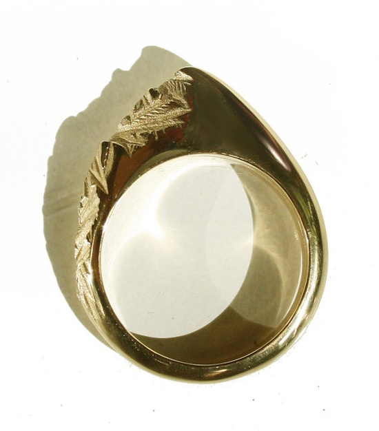 Mountain Range Ring - cool! #mountain #ring #gold #caitlynpurcell
