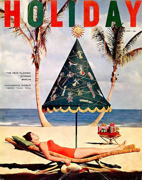 Happy Holidays, 50s style! i remember this magazine always on my parents coffee table..