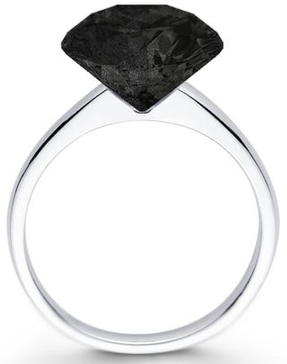 Graphite Diamond Ring