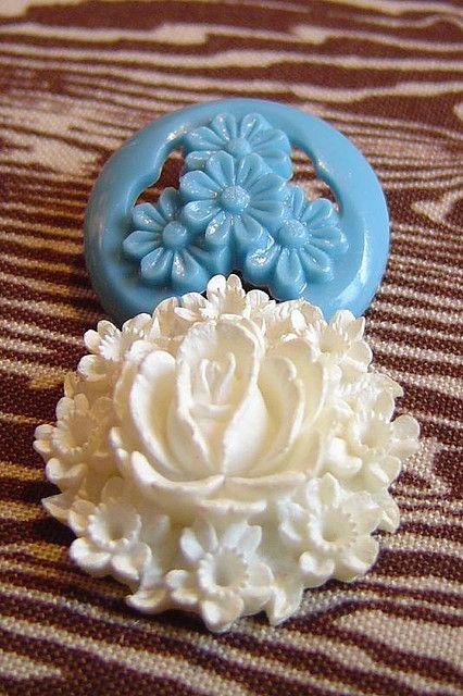 Floral Buttons