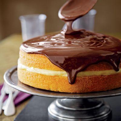 Boston Cream Pie deliciousness!!