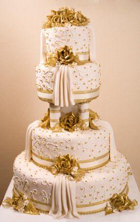 Gorgeous Wedding Cake - (love-cake)
