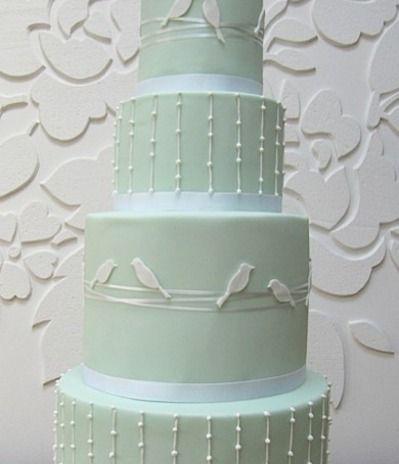 Love Birds... wedding cake