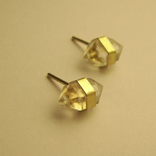 Better Late than Never 14K diamond studs