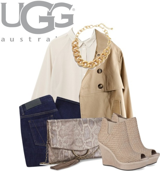 """Meet Me in Marrakech with UGG Australia"" by in-ex ❤ liked on Polyvore"