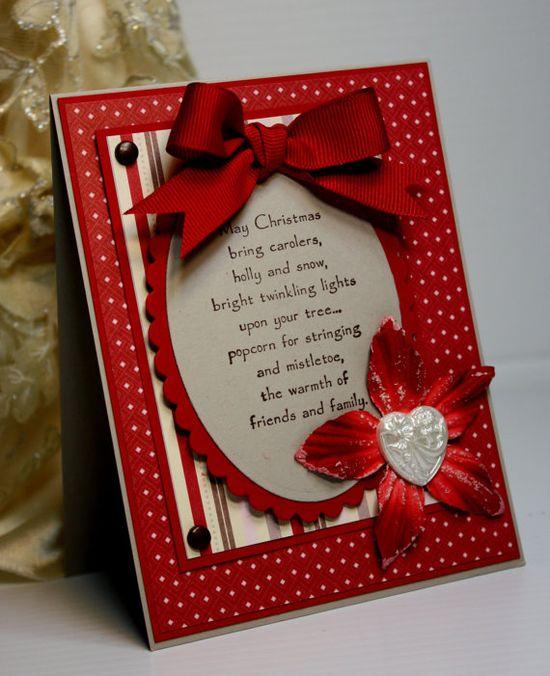 Christmas Card  Handmade Greeting Card  Holiday by CardInspired, $3.75