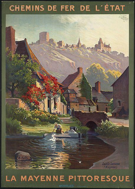 La Mayenne pittoresque by Boston Public Library, via Flickr