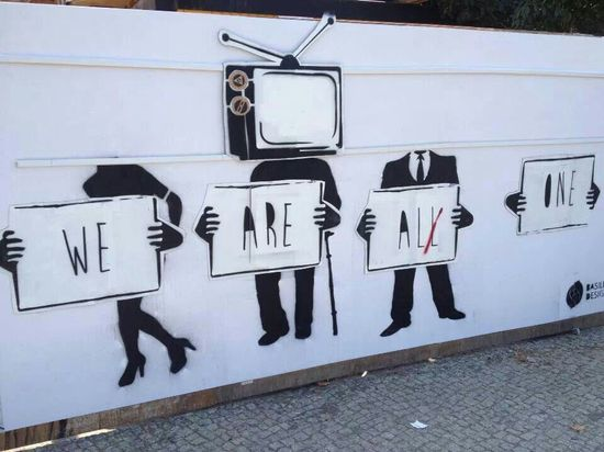 We Are All One .... #graffiti