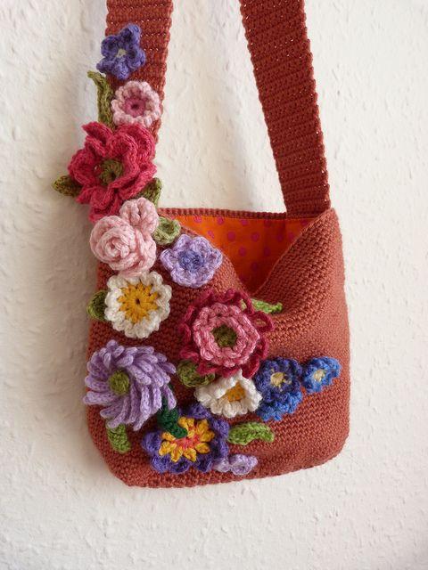 wow! Flower bag