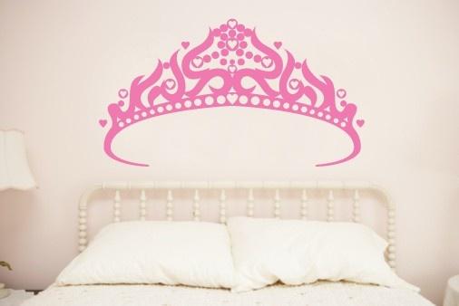 korona - naklejka na ścianę