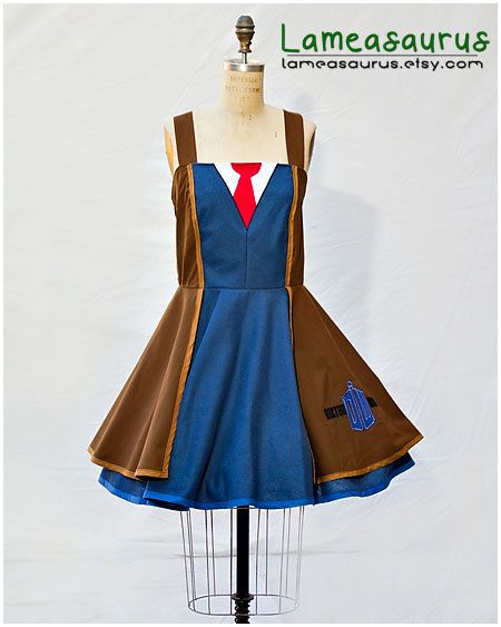 Doctor Who Ten Dress by Lameasaurus on Etsy, $120.00