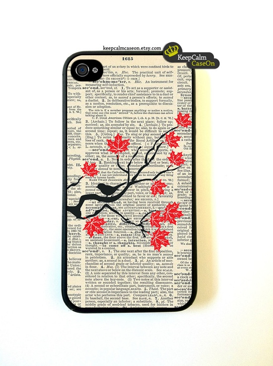 Maple Tree iPhone 4 Case / New Hard Fitted Case For iphone 4 & iphone 4S / iPhone Case