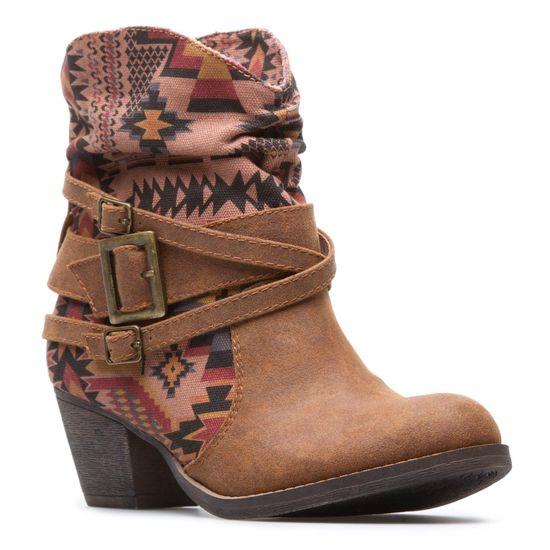 Navajo print boots