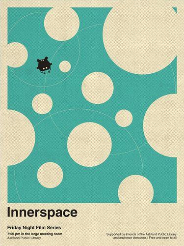 Innerspace - movie poster - Brandon Schaefer