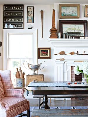 Vintage Decorating Ideas - Pictures and Ideas for Vintage Decor - Country Living